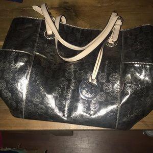 Michael Kors bronze purse